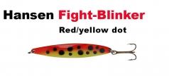 Hansen Fight 21g red/yellow dot