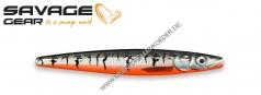 Savage Gear Line Thru Zerling 98mm 16g Black Red Tiger