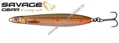 Savage Gear Seeker  Hotspot Selection 2021   98mm 23g Sandeel Copper Orange Dots