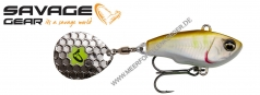 Savage Gear Fat Tail Spin Jig-Spinner 65mm 16g Ayu