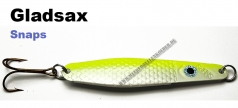 Gladsax Snaps Blinker - 20g - Fluo Gelb / Pealweiß