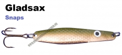 Gladsax Snaps Blinker - 25g - Olive / Kupfer