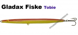 Gladsax TOBIS-Wobbler - 23g  Gelb/Rot