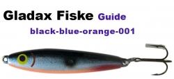 Guide Wobbler - 27g - black blue silver orange