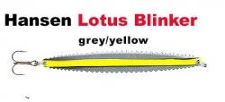 Lotus-Blinker 22g grey / yellow
