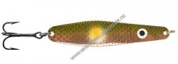 Gladsax Snaps Blinker - 20g - Kupfer Tobis Fluo Orange Fleck