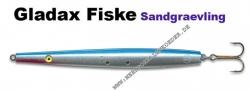 Sandgrävling 135mm 20g Blau / Silber