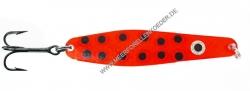 Gladsax Snaps Blinker - 25g - Rot mit schwarzen Punkten Red Devil