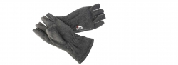 Eiger Halbfinger Fleece Handschuhe , Fleece Glove Half Fingers Gr. L
