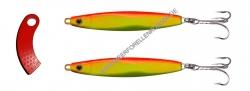 Ron Thompson Herring Master 68mm 18g Yellow / Orange 2er Pack + Line Clipper