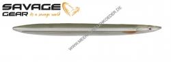Savage Gear 3D Line Thru Sandeel 125 mm 19 g  Sandeel Ghost