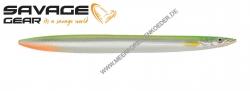 Savage Gear 3D Line Thru Sandeel 125 mm 19 g YG Silver