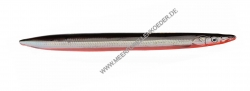 Savage Gear 3D Line Thru Sandeel 125 mm 19 g Sonderfarbe Black & Red UV