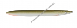 Savage Gear 3D Line Thru Sandeel 125 mm 19 g Sonderfarbe Matt White Tobis
