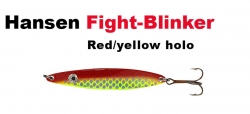 Hansen Fight 18g red/yellow holo