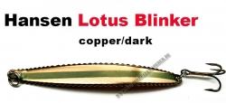 Lotus-Blinker 15g copper/dark green