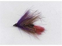 A.Jensen Skyggen lila / schwarz / braun mit rotem Schwanz Gr.6