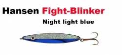 Hansen Fight 21g night light blue