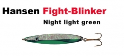 Hansen Fight 21g night light green