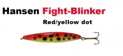 Hansen Fight 21g red/yellow dot