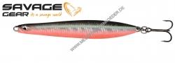 Savage Gear Seeker IPS 100mm 28g Fluo UV Red Black , fluo UV rot schwarz