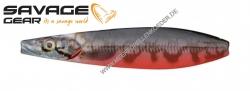 Savage Gear Line Thru Seeker 70mm 13g Red Black Pout