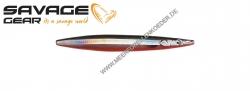 Savage Gear 3D Line Thru Sandeel 85 mm 11 g Black & Red UV