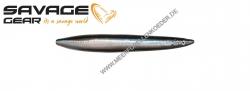 Savage Gear 3D Line Thru Sandeel 85 mm 11 g  Black Silver