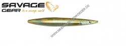 Savage Gear 3D Line Thru Sandeel 85 mm 11 g  Motor Oil UV
