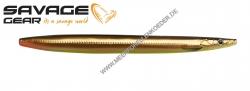 Savage Gear 3D Line Thru Sandeel 125 mm 19 g  Black Copper UV