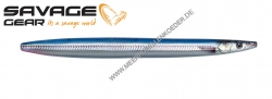 Savage Gear 3D Line Thru Sandeel 125 mm 19 g Blue Silver UV