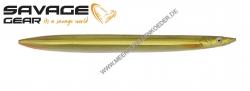 Savage Gear 3D Line Thru Sandeel 110 mm 15 g  Motor Oil UV
