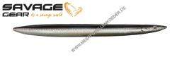 Savage Gear 3D Line Thru Sandeel 110 mm 15 g Black Silver