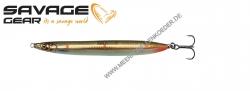 Savage Gear 3D Sandeel Pencil 90 mm 13 g  Sandeel Copper Orange UV Dots
