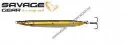 Savage Gear 3D Sandeel Pencil 90 mm 13 g  Motoroil Copper Red UV Dots