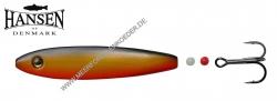 Hansen Hot Shot Inline SD  Scandinavian Design  87mm 23g  Black / Gold / Orange UV