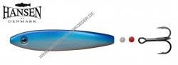 Hansen Hot Shot Inline SD  Scandinavian Design  87mm 23g  Blue / Pearl White