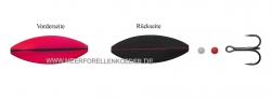 Hansen Snap Shot Inline SD  Scandinavian Design  40mm 5,3g  UV Pink / Black mit rotem UV Streifen