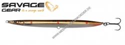 Savage Gear 3D Sandeel Pencil 125 mm 19 g  Brown Copper Red Dots UV