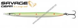 Savage Gear 3D Sandeel Pencil 125 mm 19 g  Fluo Green Red UV Dots
