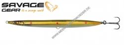 Savage Gear 3D Sandeel Pencil 125 mm 19 g  Motoroil Copper Red UV Dots