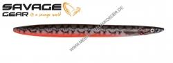 Savage Gear 3D Line Thru Sandeel 110 mm 15 g Red Black Pout
