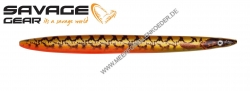 Savage Gear 3D Line Thru Sandeel 110 mm 15 g Gold Pout