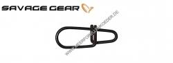 Savage Gear Crosslock EggSnap Größe M  Super starker Einhänger aus Carbonstahl