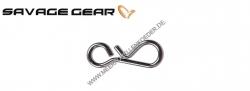 Savage Gear Mini Snap Größe Federstahl Einhänger