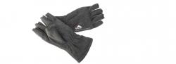 Eiger Halbfinger Fleece Handschuhe , Fleece Glove Half Fingers Gr. M