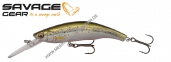 Savage Gear 3D Minnow Diver 95 mm 19 g  Ghost Silver