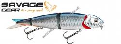 Savage Gear 4 Play Herring Swim & Jerk 19 cm 52g Swim & Jerk  Blue Silver