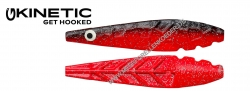 Kinetic Moen Inline  73mm 17g Red / Black