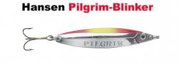 Pilgrim-Blinker 77 mm 14 g silver/orange/yellow